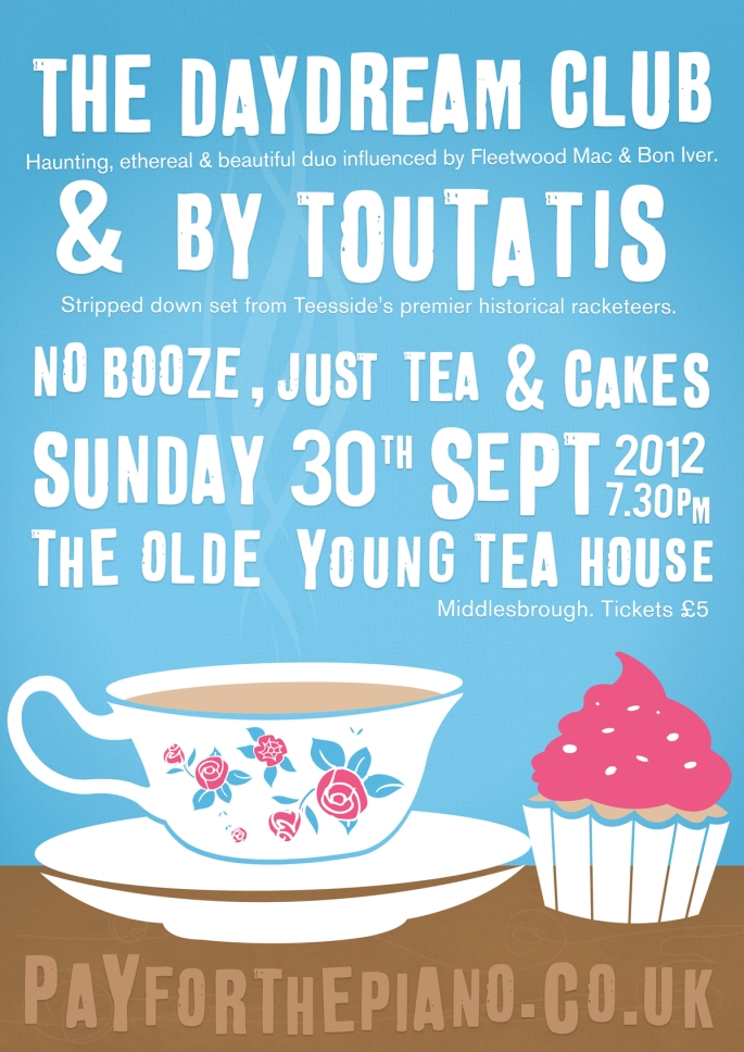 The Daydream Club at The Olde Young Tea House poster